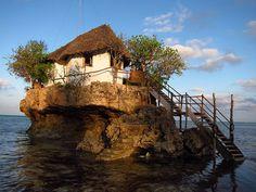 The Rock Restaurant, Zanzibar  http://www.therockrestaurantzanzibar.com/