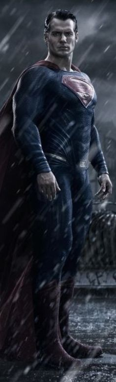 Here's the first official promo image of Henry Cavill as Superman in Batman V Superman: Dawn Of Justice!