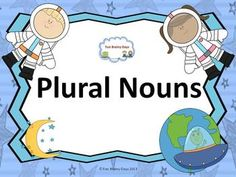 Plural Nouns #pluralnouns Posters and 10 ways to make nouns plural Also included 20 singular card to make it plural, worksheets and task cards. $6.00