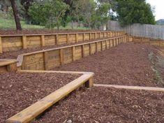 Best 20+ Wood Retaining Wall ideas