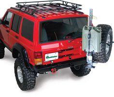 jeep cherokee xj roof rack mounts - Google Search