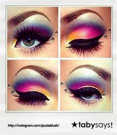 55 Melhores Imagens De Maquiagens Dos Anos 80 Maquiagem