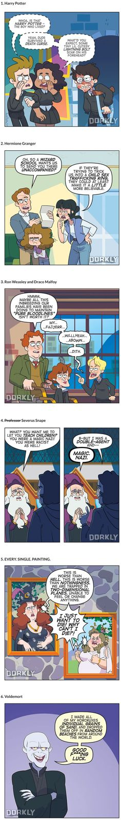 If Harry Potter Characters Were More Realistic