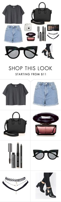"""""""Maddi Bragg inspired"""" by lillemeaghann ❤ liked on Polyvore featuring Topshop, Givenchy, Bobbi Brown Cosmetics, Retrò, Wet Seal, ASOS and NARS Cosmetics"""