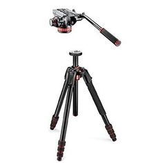 Introducing Manfrotto 190go Aluminum 4 Section Tripod with Twist Locks  Pro Video Head MVH502AH. Great product and follow us for more updates!