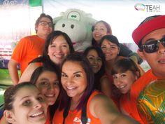 #CarreraDP ¡Selfie de nuestro equipo con Lula!