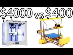 ULTIMAKER 2 vs PRINT-RITE DIY 3D Printer & How to Bed Level - PRINTER PARTY | Make Test Battle - YouTube Maybe something for 3D Printer Chat?