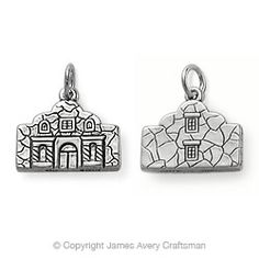 Sculptured Alamo Charm from James Avery -- cause I'm from SA? :) I bought this charm and its beautiful❤ James Avery Bracelet, Avery Jewelry, Cute Charms, Love My Husband, Just Dream, Happy Wife, Stars At Night, Jewlery, Jewelry Box