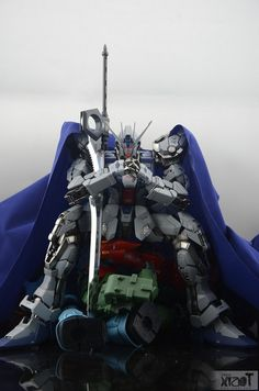 GUNDAM GUY: PG 1/60 GAT-X105 + AQM/E-X01 Aile Strike Gundam - Customized Build