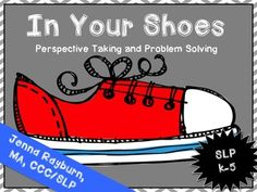 In Your Shoes: Speech Therapy for Social Skills ((updated with new activities added))