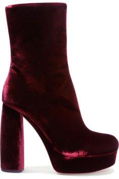 The Coolest Velvet Shoes For Fall Winter 2016-2017