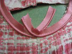 Tatianologia: Обработка проймы с использованием декоративного канта.
