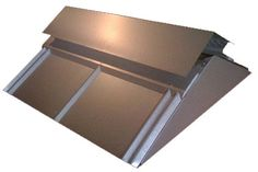 8 X 8 Corrugated Steel Bar Roofing 3 12 With Ridge Vent