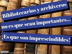Bibliotecarios y arc