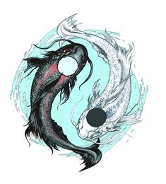 Koi Fish Tattoo Design by AenTheArtist.deviantart.com on @deviantART