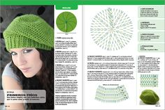 """""""MOSSITA BELLA CROCHET PATTERNS AND GRAPHICS"""": Beret Crochet Pattern for Easy and Fast!"""