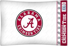 University of Alabama Pillowcase | Sports Mem, Cards & Fan Shop, Fan Apparel & Souvenirs, College-NCAA | eBay!