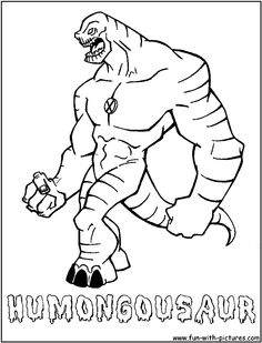 alienforce coloring pages free printable colouring pages for kids to print and color in - Ben Coloring Pages Alien Force