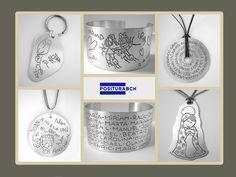 Pulseras, anillos, colgantes, llaveros.... Muchas ideas para regalos entrañables!#joyas#personalizado#positurabcn.com#