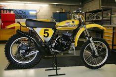 Vintage Suzuki Motorcycle