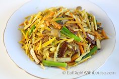 Chinese Vegetarian Stir-fry | Eat Right with Louisa
