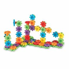 Learning Resources Gears Gears Gears Deluxe Building Set 100 Pieces *** Read more at the image link. Stem Learning, Learning Toys, Learning Resources, Problem Solving Skills, Card Patterns, Toddler Gifts, Building Toys, Building Sets For Kids, Building Materials