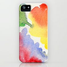 flowers iPhone & iPod Case #flowers,#watercolors