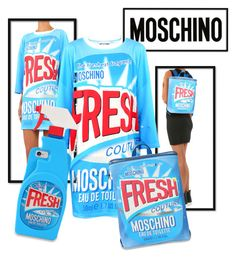 New Moschino!! by brunarosso-eshop on Polyvore featuring moda and Moschino