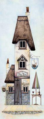 Tall Storeys III by Gary Walton, Art Print
