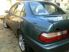 Toyota Corolla 1997 for Sale in Karachi, Pakistan - 3882 Corolla 1997, Toyota Corolla, Cheap Old Cars, Acrylic Trophy, Tesla S, Latest Cars, Car Ins, Pakistan, Vehicles