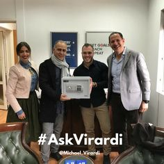 Our winner for #AskVirardi episode 106 Mr. Stephanos Chrysanthou has received his gift today from Mr. Mozoras Frixos & Mrs. Loggou Lia.  Wishing you all a Merry Christmas and a Prosperous New Year 2017!  Stay motivated,  Michael R. Virardi