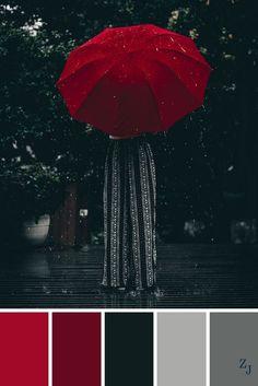 ZJ Colour Palette 423 by imelda Black Color Palette, Color Schemes Colour Palettes, Colour Pallette, Bedroom Color Schemes, Bedroom Colors, Red Color Combinations, Bedroom Color Palettes, Red Bedroom Decor, Vintage Colour Palette