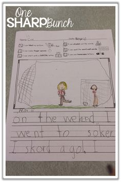 """Writing Workshop can be one of the most challenging times during the day for our Kindergarten students, but not with these great writing tips, writing activities, and writing FREEBIES! This """"growing"""" writing checklist is one of our favorite Kindergarten activities for improving our Kindergarten writing block and creating independent writers... one check at a time!"""