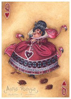 Queen of Hearts Art