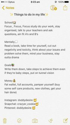 Life Hacks For School, School Study Tips, Girl Life Hacks, Vie Motivation, Study Motivation, Fitness Motivation, Schul Survival Kits, Self Care Bullet Journal, Get My Life Together
