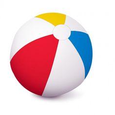 Aquafun 51cm Matt Beach Ball - Swimming Pool Toy