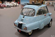 1958 BMW Isetta 300 microcar Bmw Isetta, Microcar, Subaru, Vintage Cars, Cool Cars, Vehicles, Transportation, Motorcycle, Design