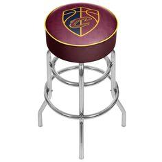 NBA Cleveland Cavaliers City Padded Swivel Bar Stool