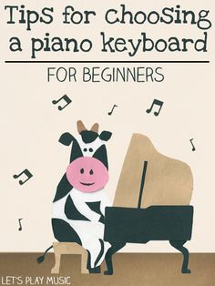 Top tips of things to look out for when choosing a piano keyboard for beginners including suggestions of keyboards at reasonable prices.