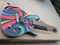 New Switch Tonal Creations Highway Black Electric Guitar New Line Vibracell