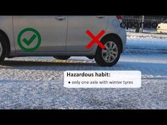 Best time for winter tyres mount ● Hints from Oponeo™ - YouTube