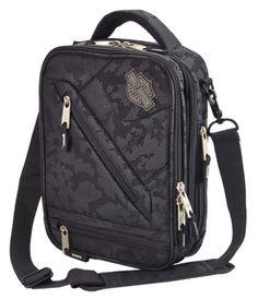 Harley-Davidson Business & Travel Tote Bag Brief Case 99202 for sale online Travel Luggage, Travel Bags, Harley Davidson Purses, Electronic Gifts For Men, Crossbody Bag, Tote Bag, Biker Chick, Black Cross Body Bag, Business Travel