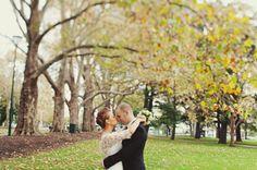 I love the idea of an early fall wedding.