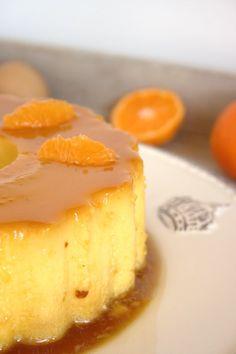Cinco Quartos de Laranja: Pudim de ovos com tangerina