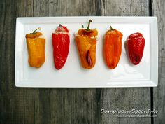 Crab n Cheese Stuffed Sweet Pepper Poppers. Best stuffed. Go so well in everything from soup to stir fries to well, anything you use sweet peppers for.