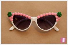 Bring out your inner animal lover with these shades. | 16 DIY Sunglasses You'll Actually Want To Wear This Summer