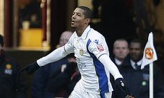 Jan.3rd. 2010: Jermaine Beckford celebrates after scoring Leeds United's winner at Old Trafford in the FA Cup.
