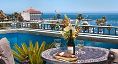 The Avalon Hotel - I've been to Catalina Island for a day trip, but this looks like a nice place to stay, and not too expensive