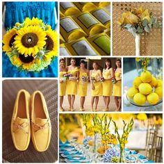 Summer Inspired Wedding Theme.