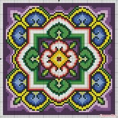 This Pin was discovered by Maz Embroidery Patterns Free, Loom Patterns, Perler Patterns, Quilt Patterns, Cross Stitching, Cross Stitch Embroidery, Cross Stitch Designs, Cross Stitch Patterns, Cross Stitch Cushion